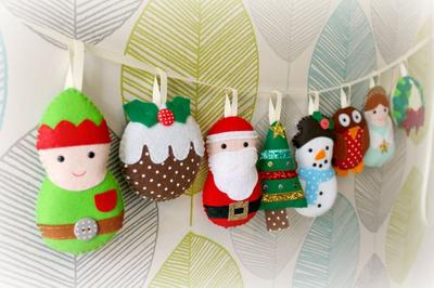 PDF instructions for Large Christmas Garland
