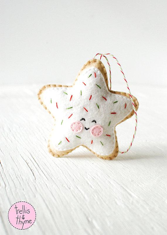 PDF patrón - estrella de galleta de azúcar