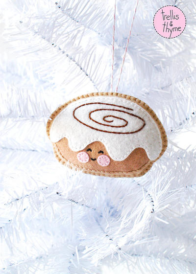 PDF Pattern - Frosted Sticky Bun
