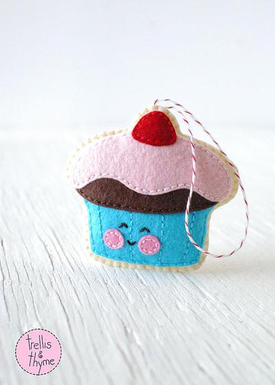 PDF Pattern - Gumdrop Cupcake