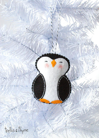 PDF Pattern - Little Penguin