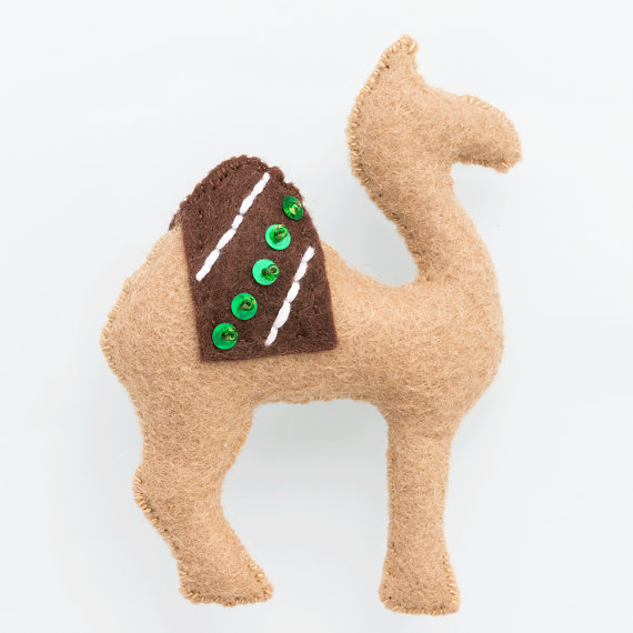 Christmas Nativity Scene - Camel Add-On Pattern