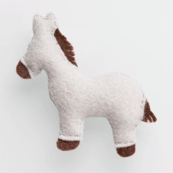 Christmas Nativity Scene - Donkey Add-On Pattern
