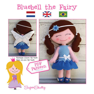 PDF pattern Bluebell the Fairy