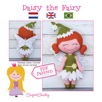 PDF pattern Daisy the Fairy