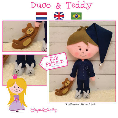 PDF pattern Duco & Teddy