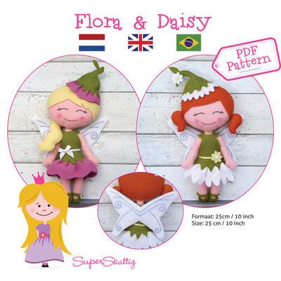PDF pattern Flora & Daisy