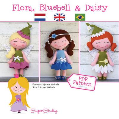 PDF Pattern Flora, Bluebell & Daisy