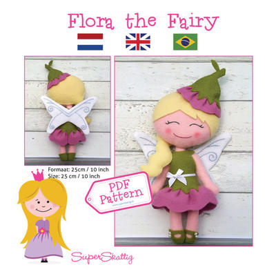 PDF pattern Flora the Fairy