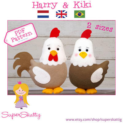PDF Pattern Harry & Kiki