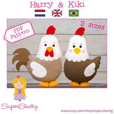 PDF Pattern Harry & Kiki