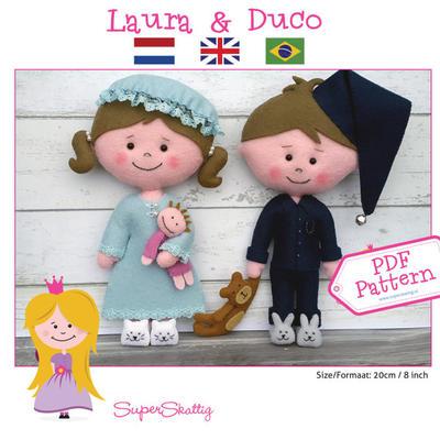 PDF pattern Laura & Duco
