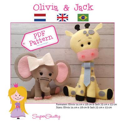 PDF Pattern Olivia & Jack