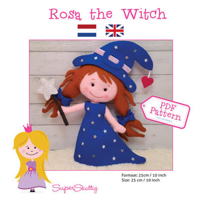 PDF pattern Rosa the Witch