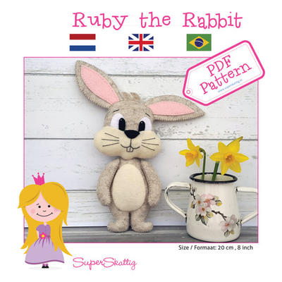 PDF pattern Ruby the Rabbit