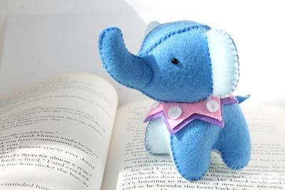 Felt Elephant Plush