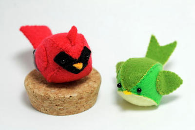PDF Pattern - Felt Bird Plush