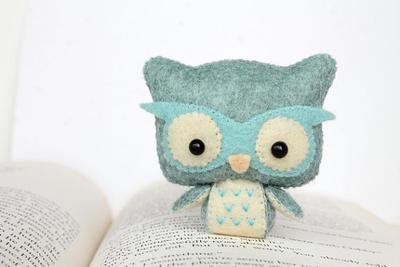 PDF Pattern - Felt Owl Nogget Plush